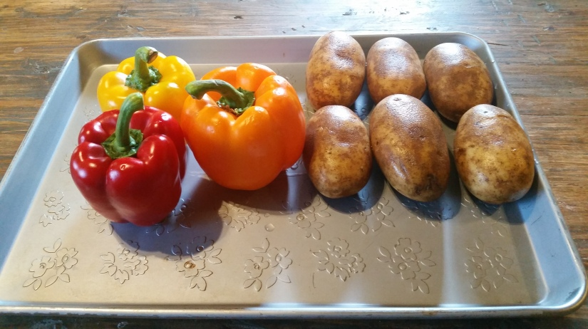 Roasted Bell Peppers andPotatoes
